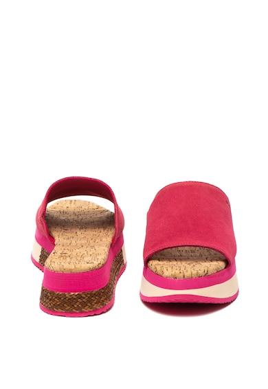 Gant Papuci flatform de piele intoarsa Sant Ana Femei