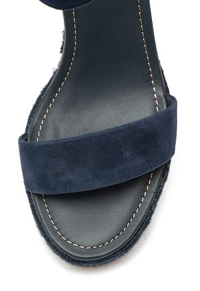 Gant Sandale wedge de piele intoarsa cu bareta pe glezna San Diego Femei
