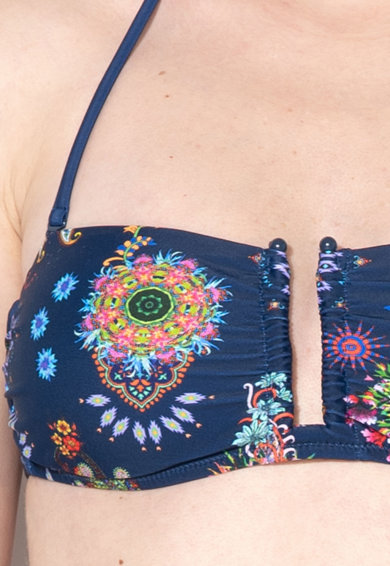 DESIGUAL Sutien de baie cu imprimeu floral Rem Femei