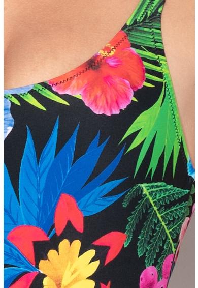 DESIGUAL Tropic virágmintás egyrészes fürdőruha női