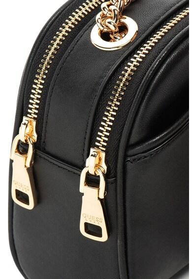 Guess Кожена чанта с верижка Жени