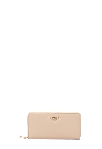 Guess Bőr pénztárca logórátéttel női