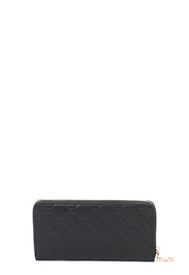 Guess Cipzáras bőr pénztárca nyomott logóval női