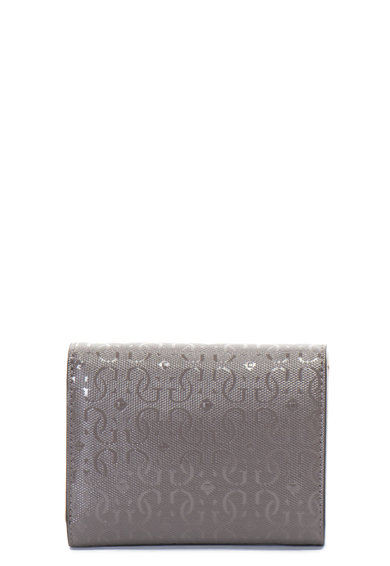 Guess Portofel de piele ecologica, cu aplicatie logo metalica Femei