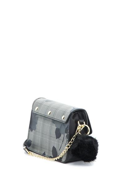 Lancetti Mintás keresztpántos műbőr táska női