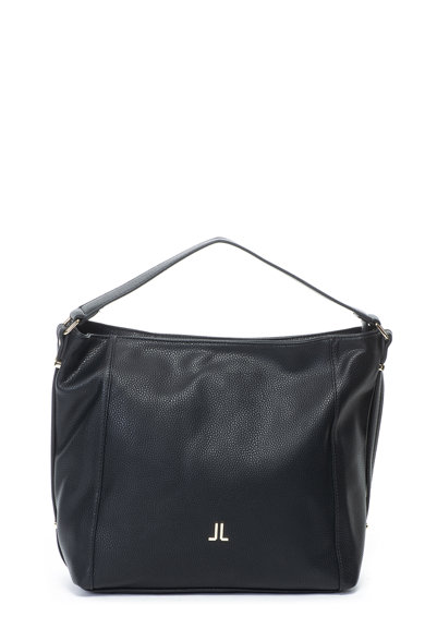 Lancetti Műbőr hobo táska logórátéttel női