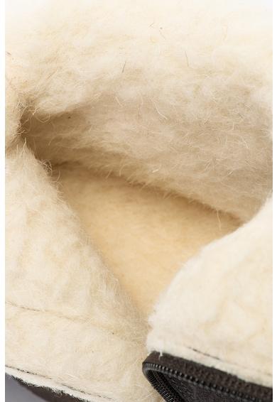Caprice Cizme de piele intoarsa cu captuseala de blana shearling Femei