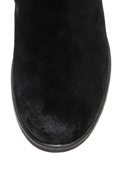 Caprice Cizme de piele lungi pana la genunchi cu barete cu catarama Femei