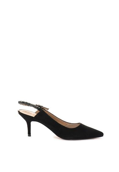 Guess Велурени обувки с остър връх и декорации Жени