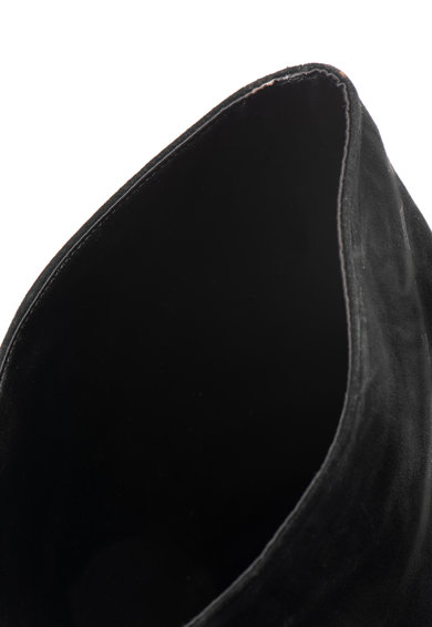 Guess Велурени ботуши с масивен ток Жени