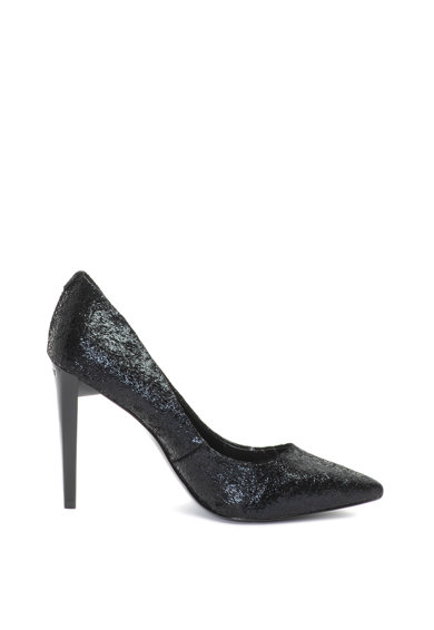 Guess Обувки с остър връх и бляскав ефект Жени
