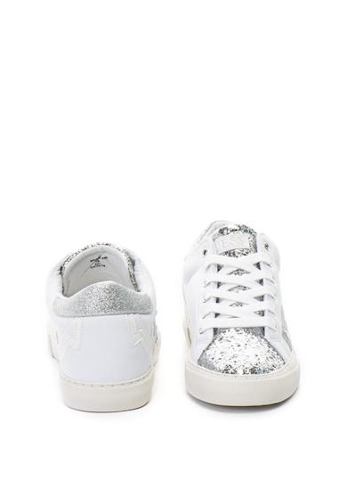 Guess Pantofi sport cu talpa wedge ascunsa si detalii stralucitoare Femei