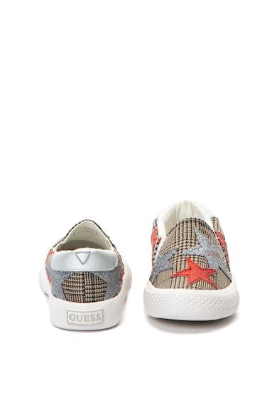 Guess Bebújós sneakers cipő csillogó csillagmintás részletekkel Lány