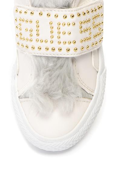 Guess Műbőr cipő műszőrme szegéllyel Lány