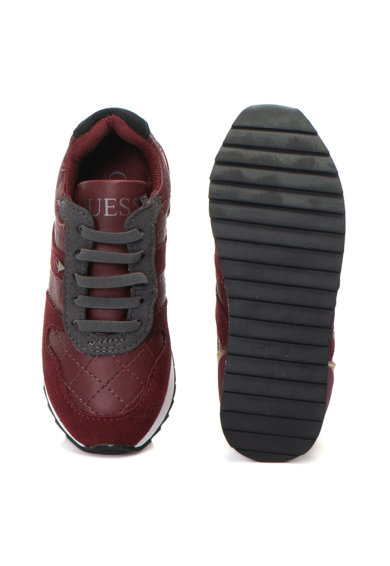 Guess Спортни обувки от еко кожа с лого отстрани Момичета