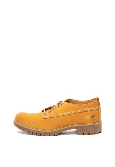 Timberland Pantofi derby de piele nabuc Lyonsdale Femei