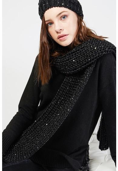 Motivi Fular tricotat cu paiete Femei