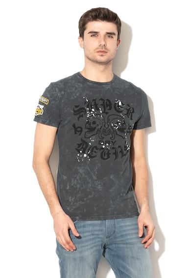 SUPERDRY Tricou cu imprimeu logo Barbati