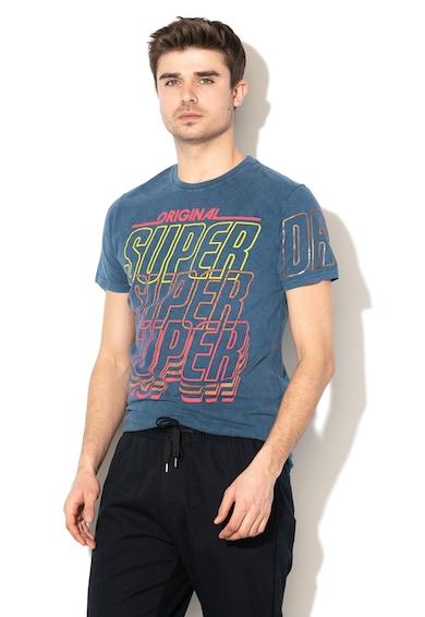 SUPERDRY Tricou cu imprimeu logo Spectrum Graphics Barbati