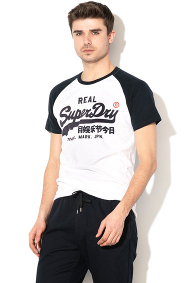 SUPERDRY Tricou cu imprimeu logo Vintage Barbati