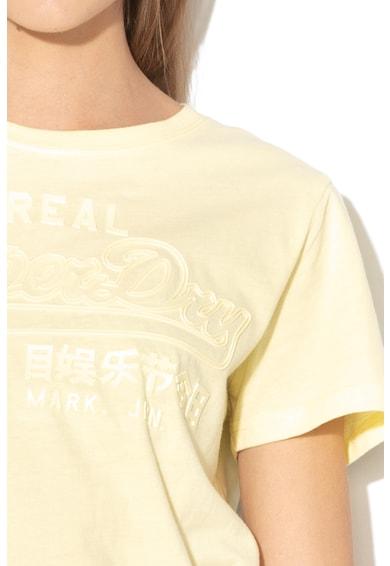 SUPERDRY Tricou cu detalii logo Vintage Femei