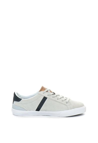 SUPERDRY Pantofi sport de piele intoarsa, cu garnituri de piele ecologica Vintage Court Barbati