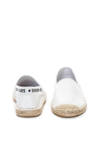 SUPERDRY Erin műbőr espadrilles cipő női