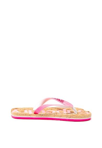 SUPERDRY Papuci flip-flop cu insertii stralucitoare Femei