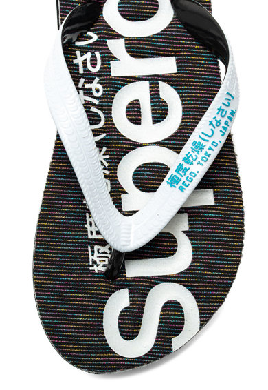 SUPERDRY Papuci flip-flop cu logo Femei