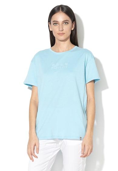 SUPERDRY Tricou cu logo brodat MInimal Femei