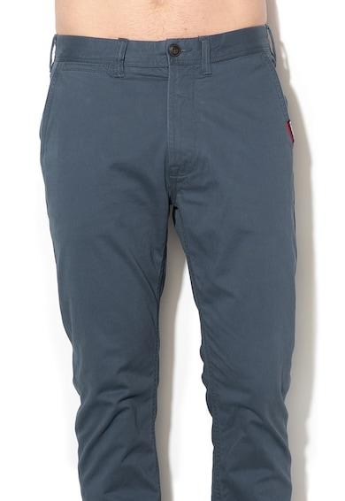 SUPERDRY Pantaloni chino cu croiala dreapta International Barbati