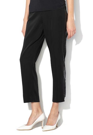 Ted Baker Pantaloni conici cu garnituri laterale cu paiete Polliit Femei