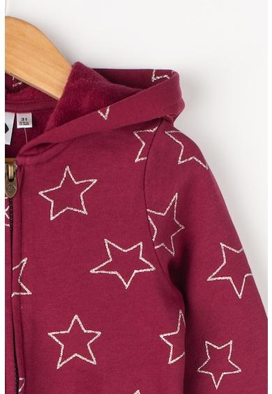 Z Kids Kapucnis pulóver csillagmintával Lány