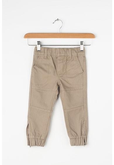 Z Kids Pantaloni cu croiala conica si slituri cu fermoar pe glezna Baieti