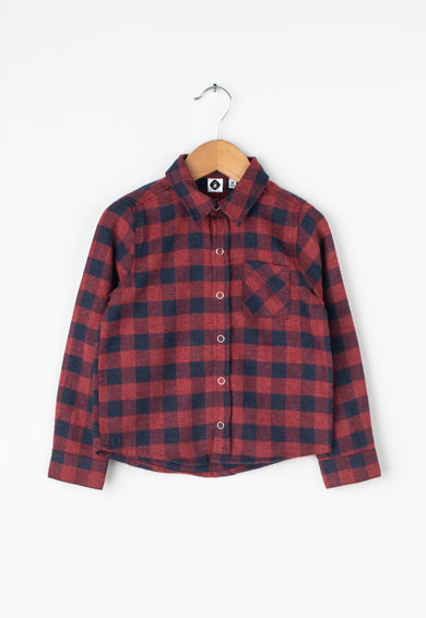 Z Kids Карирана риза с джоб на гърдите Момчета