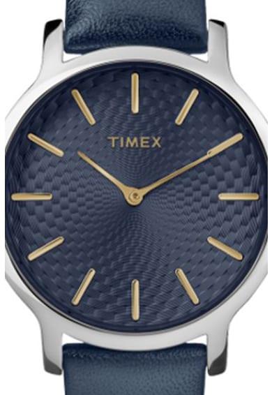Timex Karóra bőrszíjjal férfi