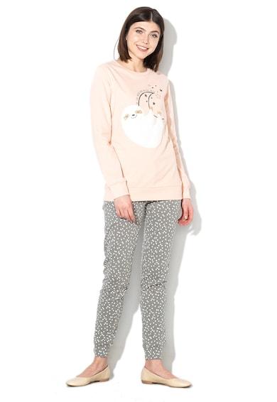 Grafikai és csillagmintás pizsama szett - Yamamay (PPLD113018-087) 34be44d1e2