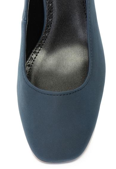 Esprit Pantofi de piele ecologica, cu toc masiv Femei