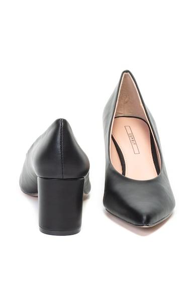 Esprit Pantofi de piele ecologica, cu varf ascutit Femei