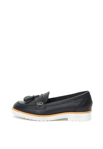 Esprit Pantofi loafer penny, de piele Femei