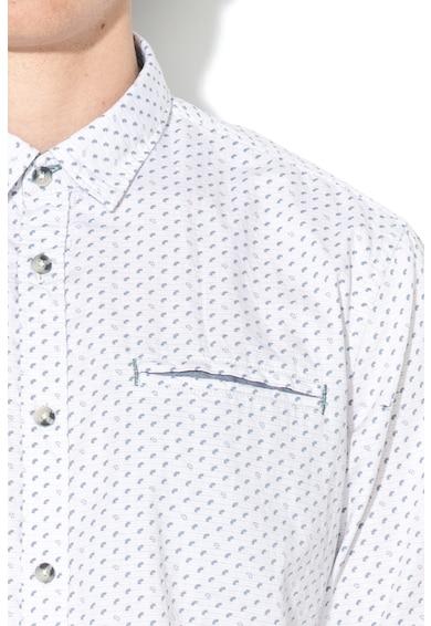 EDC by Esprit Slim fit ing absztrakt mintával férfi