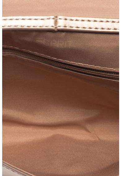 EDC by Esprit Geanta plic cu aspect stralucitor Femei