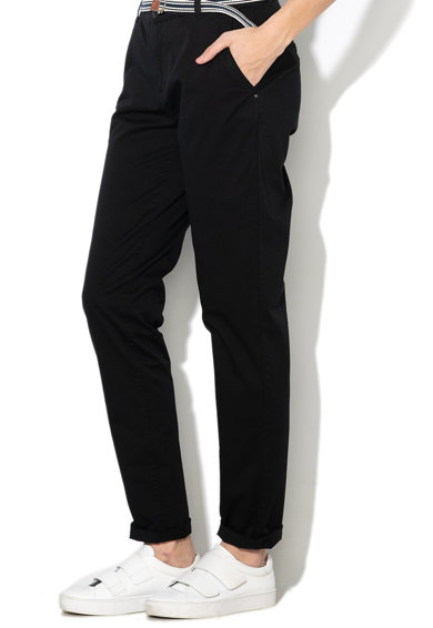 Esprit Pantaloni chino cu o curea 8 Femei
