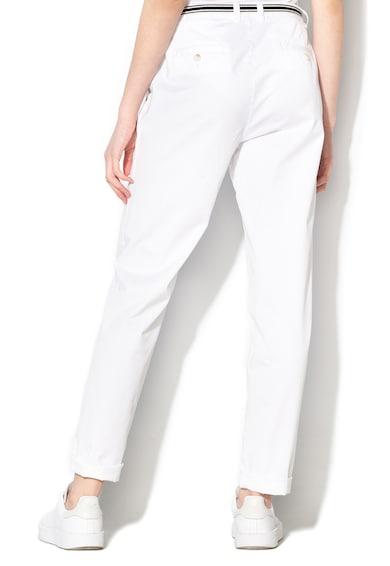 Esprit Pantaloni chino cu o curea Femei