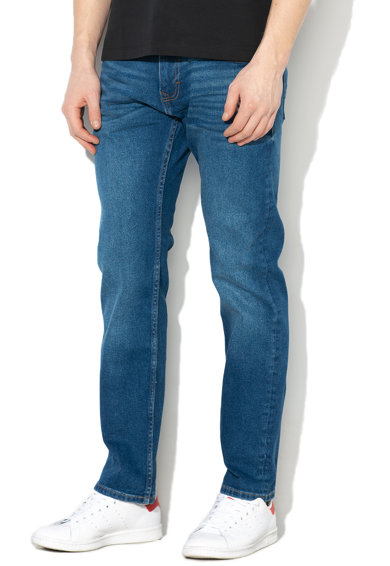 Esprit Mosott hatású straight fit farmernadrág férfi