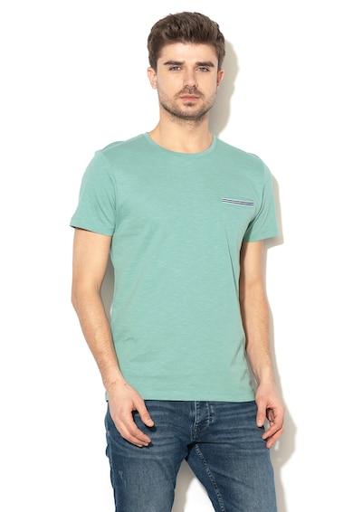 Esprit Regular fit póló zsebbel a mellrészen férfi