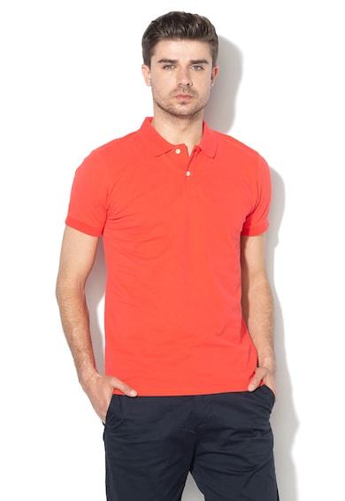 Esprit Galléros piké póló gumis logóval férfi