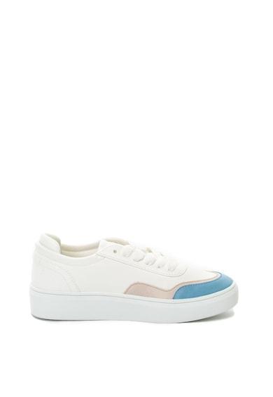 Esprit Flatform műbőr sneakers cipő női