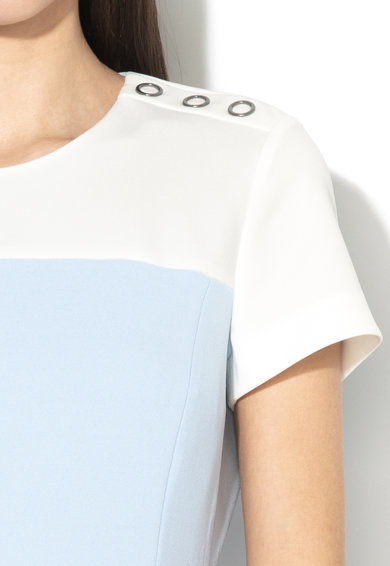 Esprit Rochie dreapta cu model colorblock Femei