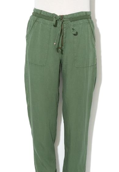EDC by Esprit Pantaloni tapered fit, din lyocell Femei